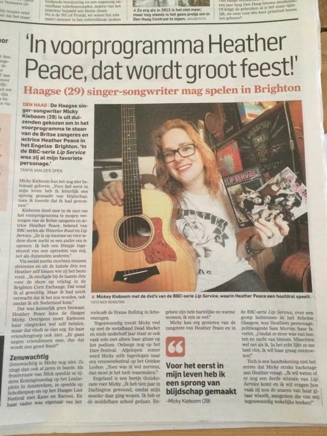AD Articlel Heather Peace